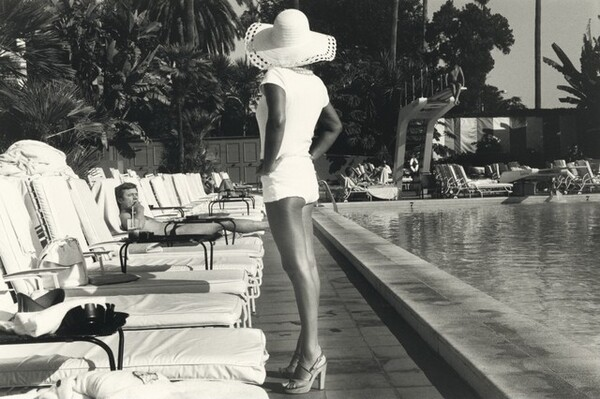 Woman by the Pool, Beverly Hills Hotel
