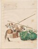 Freydal, The Book of Jousts and Tournaments of Emperor Maximilian I: Combats on Horseback (Jousts)(Volume I): Plate 26