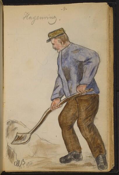 Man Digging