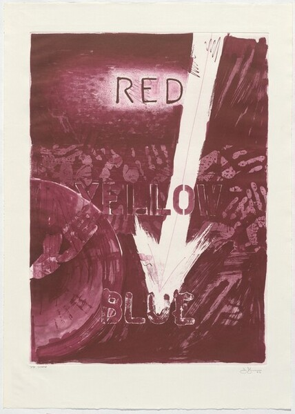 Untitled (Red) [3rd state]