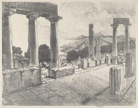 Aegina, The Black Forest