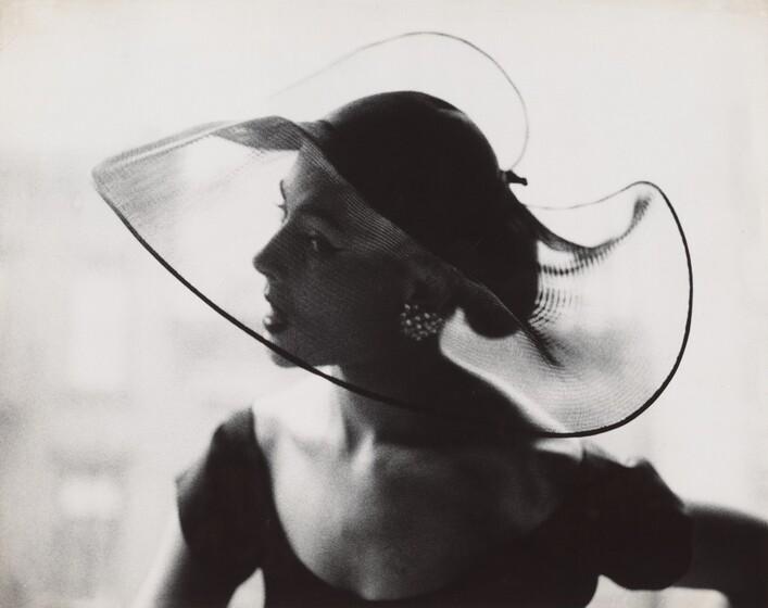 Lillian Bassman, Translucent Hat, c. 1950