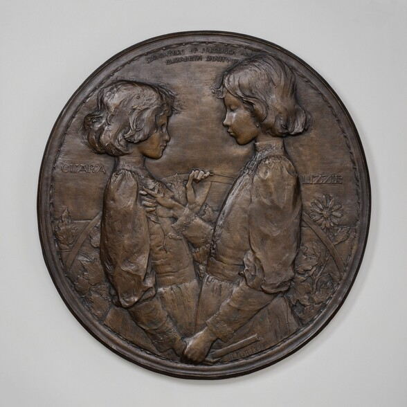 Clara and Lizzie, Daughters of Frederick and Elizabeth Shattuck