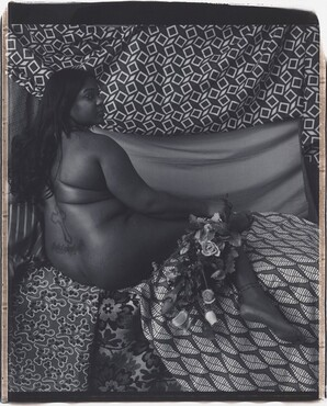 Mickalene Thomas, Melody: Back, 20112011