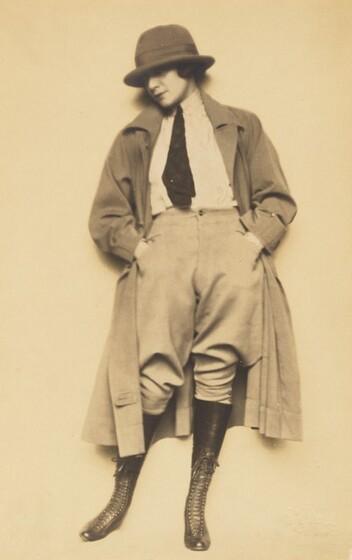 Madame d'Ora, Mariette Pachhofer (later Mariette Lydis), 1921