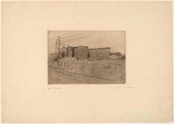 Along the Railroad (An der Eisenbahn)