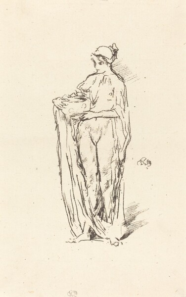 Girl with Bowl