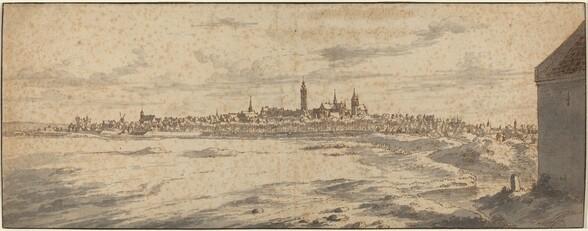 View of Mons, Belgium