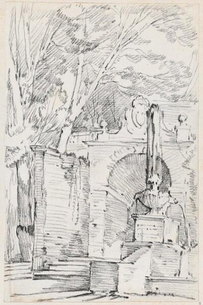 Fountain of Pomona in the Gardens of the Villa d