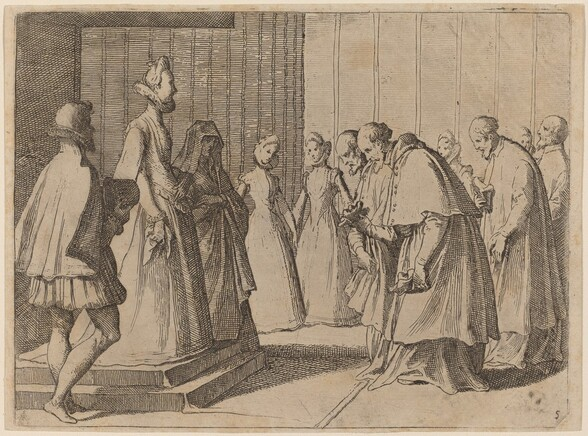 Margaret of Austria Receiving the Homage of Cardinals and Prelates