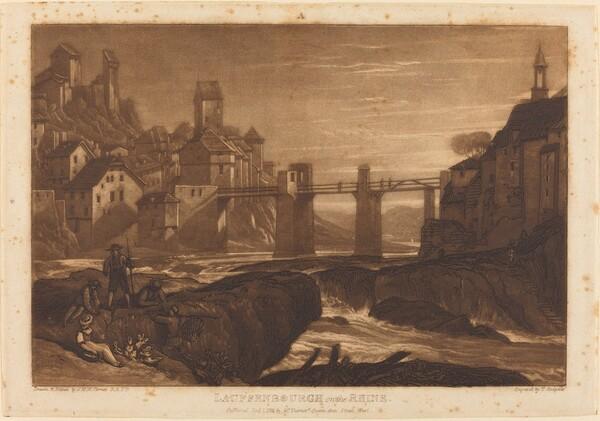 Lauffenbourgh on the Rhine