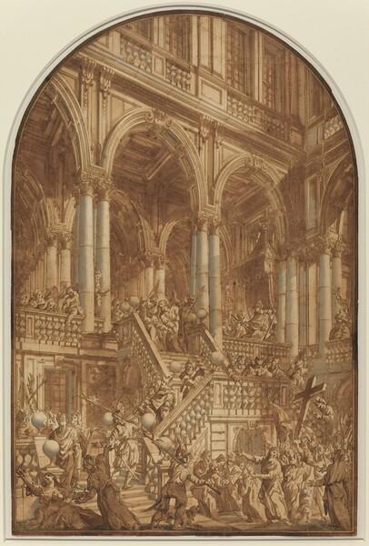 Christ Led Captive from a Palace