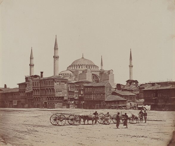 Hagia Sophia from Place l