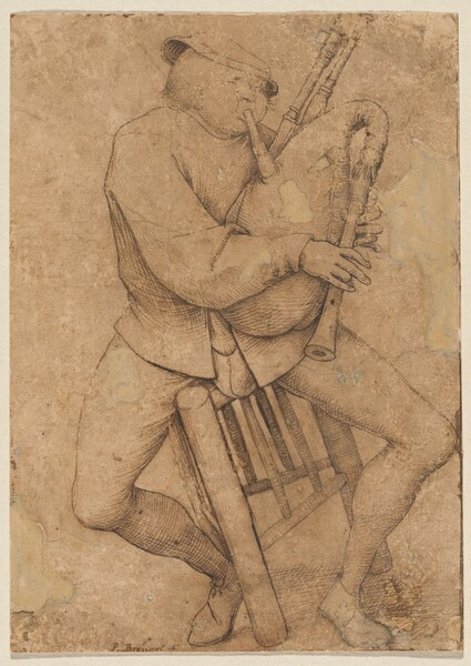 The Bagpipe Player