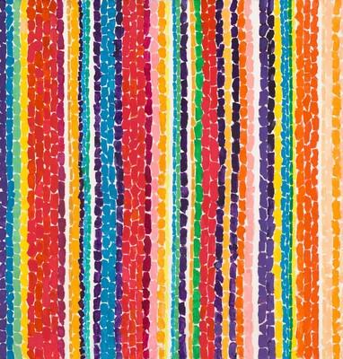 Alma Thomas, Tiptoe Through the Tulips, 1969