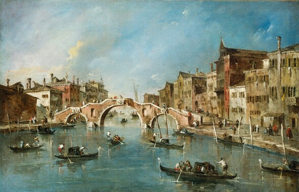 View on the Cannaregio Canal, Venice