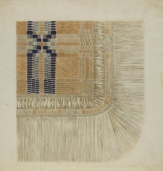 Handwoven Coverlet (Detail)