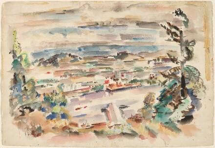 Mark Rothko, Untitled, late 1920slate 1920s