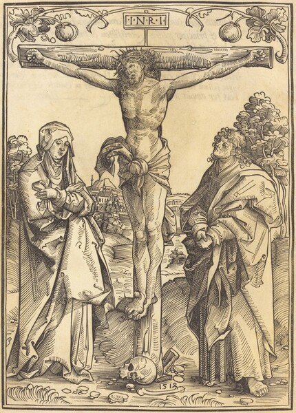 Christ on the Cross with Mary and John
