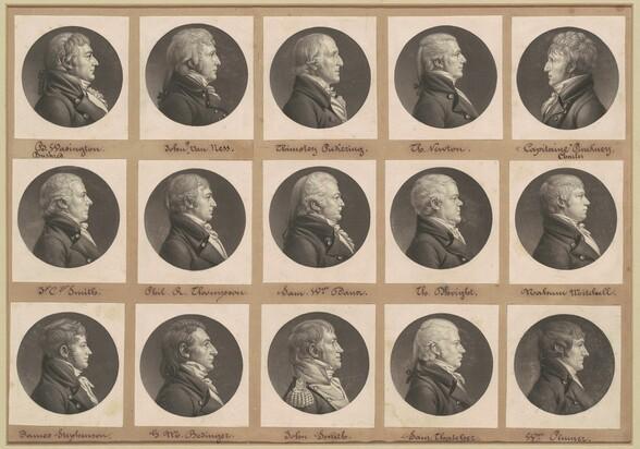 Saint-Mémin Collection of Portraits, Group 33
