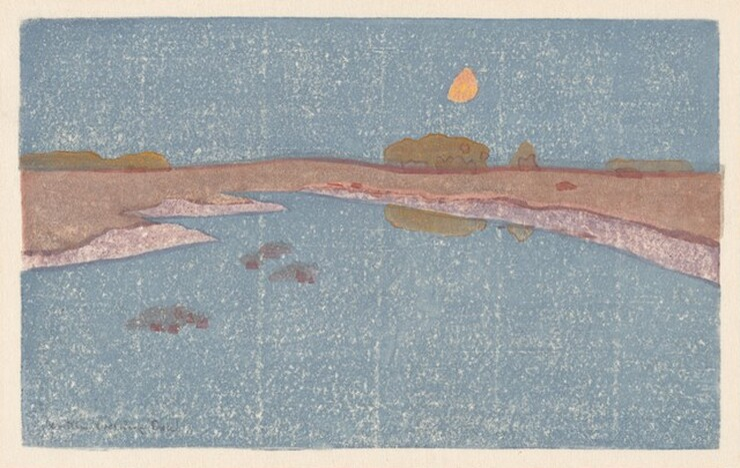 Arthur Wesley Dow, Marsh Creek, c. 1914c. 1914