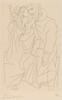 Kinesias and Myrrhine with a Child (Couple etenfant)