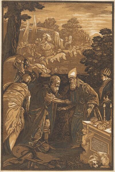 Melchisedech Blessing Abraham