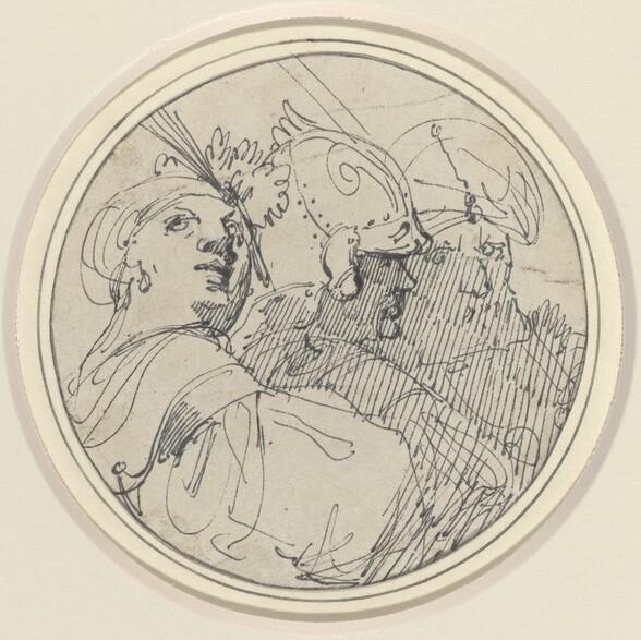 Three Oriental Heads