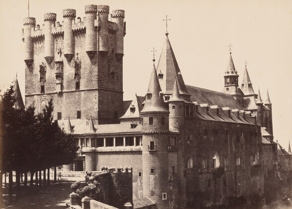 Segovia, Façade of the Alcazar and Moorish Tower