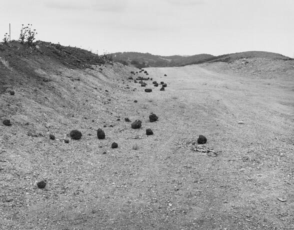 Road Cut (Homage to Roger Fenton) Diamond Bar, California