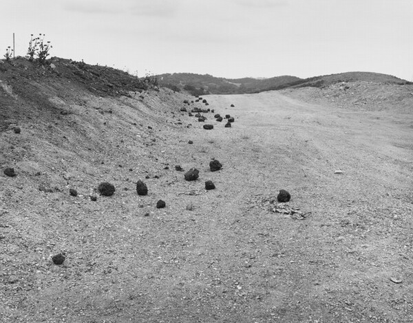 Road Cut (Homage to Roger Fenton) Diamond Bar, California