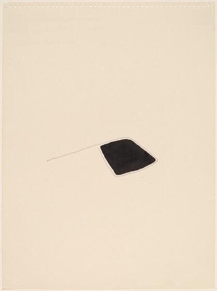 Black Diamond with Pencil Line