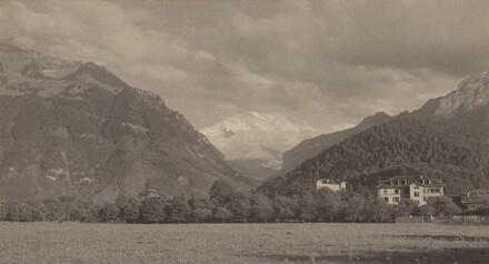 From the Höheweg, Interlaken