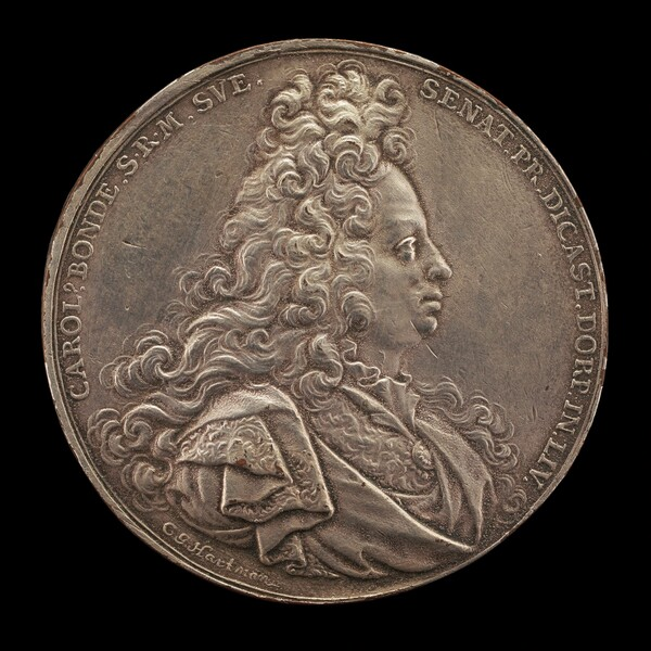 Karl Bonde, 1648-1699, Swedish Senator [obverse]
