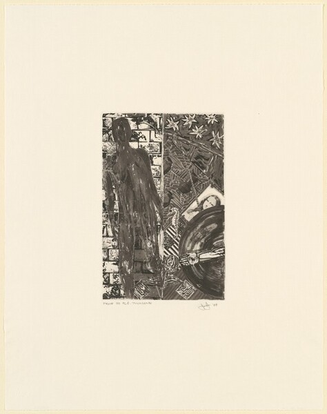 Summer (frontispiece for Poems by Wallace Stevens) [proof by R.E. Townsend]