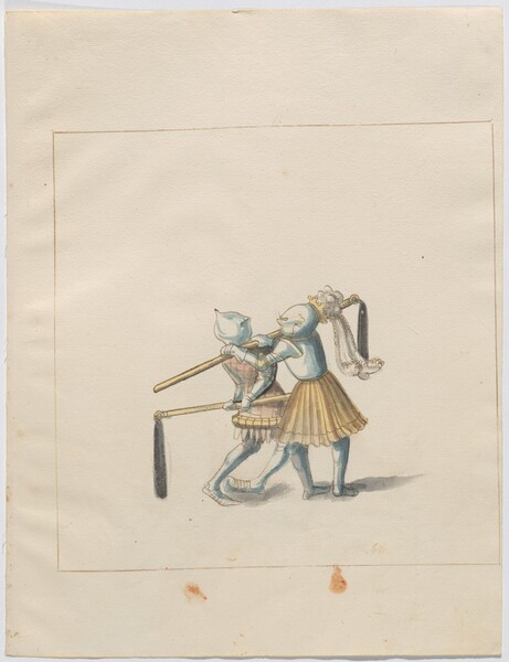 Freydal, The Book of Jousts and Tournament of Emperor Maximilian I: Combats on Foot (Jousts)(Volume III): Plate 126