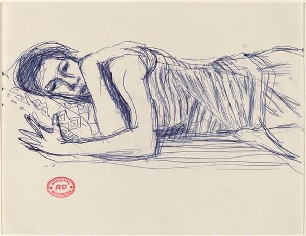 Untitled [sleeping woman]