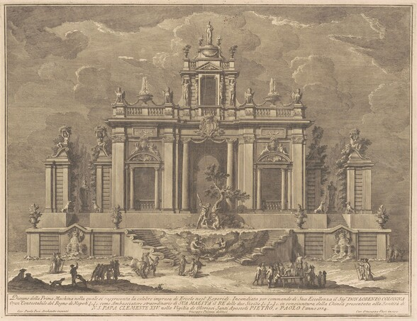 The Prima Macchina for the Chinea of 1774: Hercules and the Dragon in the Garden of the Hesperides