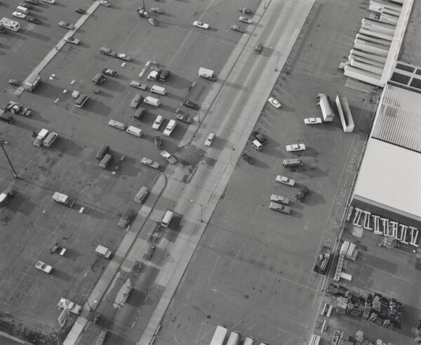 Aerial View: Parking Lot, Midway Shopping Center--Saint Paul, Minnesota