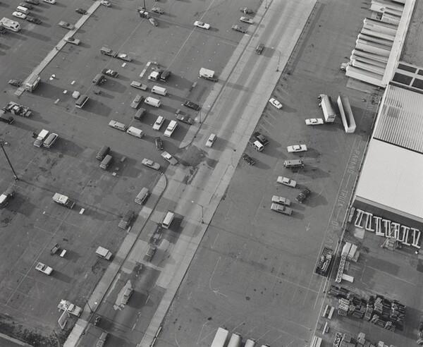 Aerial View: Parking Lot, Midway Shopping Center--Saint Paul, Minnesota