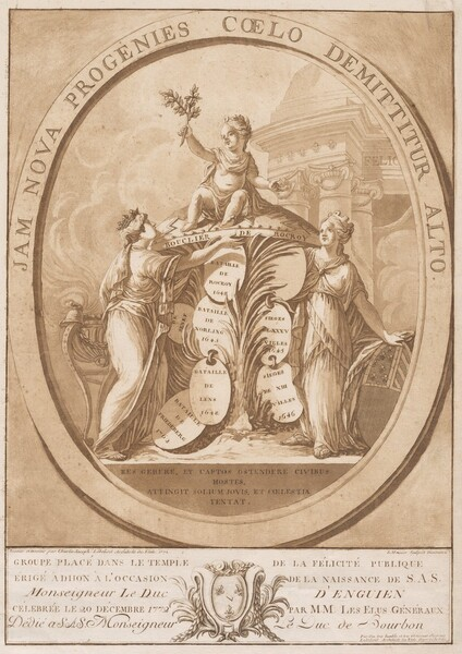 Allegory Celebrating the Birth of the Duc d'Enghien