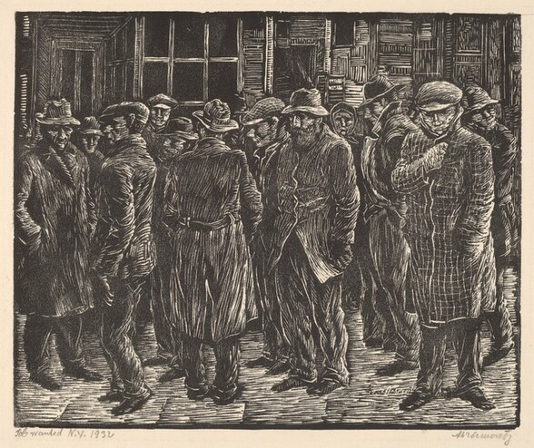 Job Wanted, N.Y. 1932