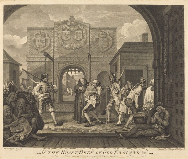 The Gate of Calais, or The Roast Beef of Old England