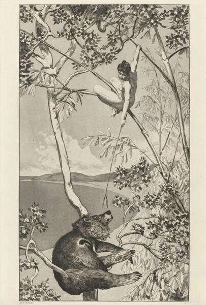 Bear and Elf (Bär und Elfe): pl.1