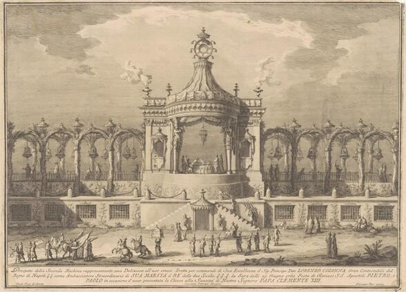 The Seconda Macchina for the Chinea of 1760: A Chinoiserie Pavilion