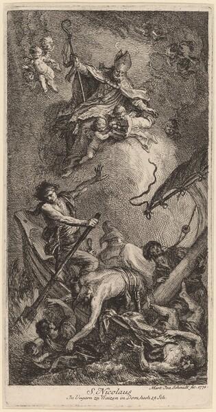 Saint Nicholas Rescuing Sailors