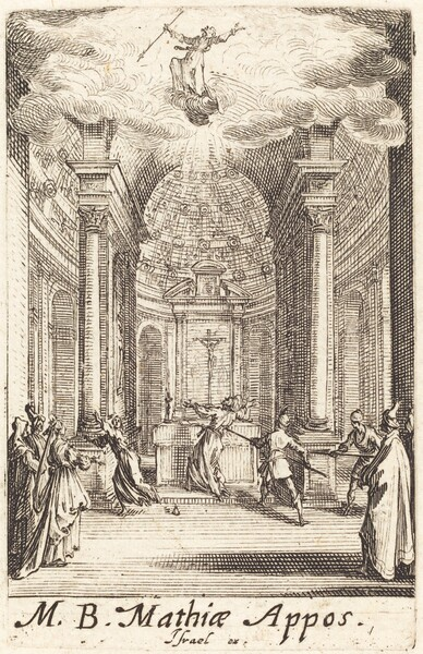 The Martyrdom of Saint Matthias
