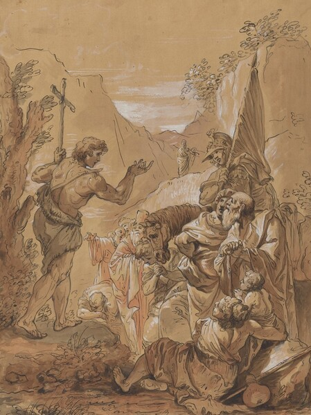 Preaching of John the Baptist in the Wilderness