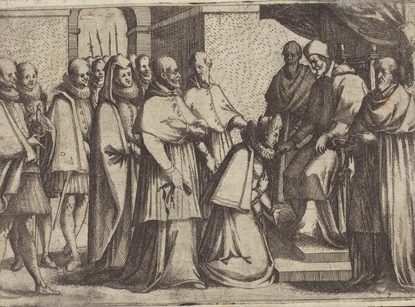 Papal Audience [verso]