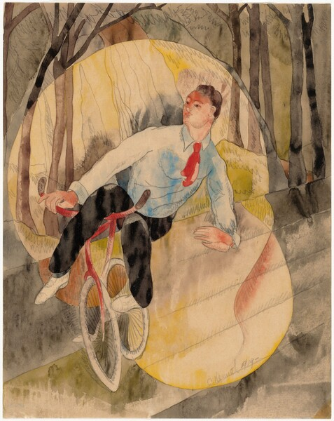 In Vaudeville, the Bicycle Rider